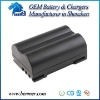 Digital camera battery pack replacement for Olympus PS-BLM1