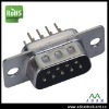 Dip Straight 9 Pins Male Plug D-SUB Connector