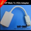 Displayport to VGA female adapter