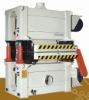 Double decks sanding machine