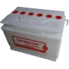 Dry car battery DIN70