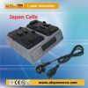 Dual Port V-mount Camcorder Battery Charger