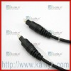 Eco-friendly Fiber Optical Cable Audio Plug