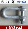 Electric line fitting -U Shackle