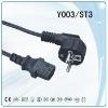 Electric plug,schuko power cord,IEC socket