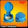 Europe waterproof receptacle