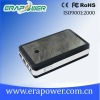 External portable Li-polymer 10000mAh/37Wh power bank for Iphone