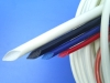 FSG silicone extruded and fiberglass braided tubes