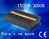 Factory sell high quality ,CE approved ,dc 12v  to ac 100v ,1500w pure sine wave invertor with 10A charger