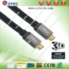 Flat HDMI cable with 1.4 version and Metal Shell