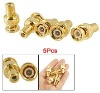 Gold BNC Male to RCA Female Connector Adapter