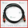 Gold Plated Optical Toslink For Multimedia