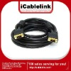 Gold-plated 5M VGA SVGA 15pin cable/lead