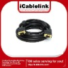 Golden 15M VGA cable/lead male to malefor PC,laptop,projector