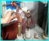 HF water cooling electrical pin quench equipment