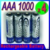 HISTORY Low !!!4 PCS AAA 1000 mAh Ni-MH Rechargeable Recharge Battery