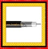HT022 rg59 double shield coaxial cable with messenger