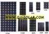 HY 155w monocrystalline solar panel