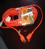 Heavy duty 110 volt power extension cord outdoor