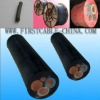 Heavy duty rubber cable sheathed flexible power cable H07RN-F/H05RN-F