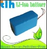 High ah 11.1V 13.2Ah lithium battery pack