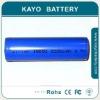 High capacity Li-ion battery18650 2000mAh
