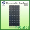 High efficiency 180 W single crystalsolar panel price