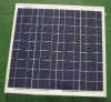 High efficiency solar cell panel