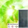High efficiency solar panel mono 195w with 100% TUV standard flash test