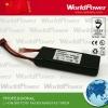 High li-po battery pack 7.4V 3AH