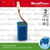 High quality 11.1V 6600mAh li-ion rechargeable battery for power tools