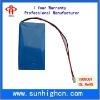 High quality 3.7V polymer battery