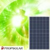 Higher efficiency Poly solar module 225W with TUV and Product INSURANCE