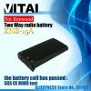 Hot sale 1500mAh KNB-15A NI-MH Two Way Radio Battery