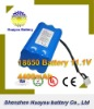 HuaYou 20112 News Li-ion 18650 4400mAh rechargeable 3.7v li-ion polymer battery