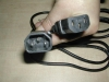 IEC Har RoHS standard Power Chord Cable SJT SVT H05VV-F
