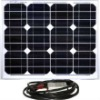 Instapark 30W Mono-crystalline Solar Panel with A 12V Sola by NOWER