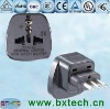 Italy, Uruguay (embedded pin) travel plug/Grounded travel plug/AC power adapter/ Converter adapter/adaptor plug SS-12A