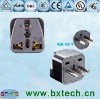 Italy, Uruguay travel plug/Grounded travel plug/AC power adapter/ Converter adapter/adaptor plug WD-12