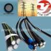 JKLYJ Aerial Bundle Cable with PE insulated