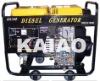 KDE6700E air cooled diesel generator