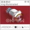 LAS2GQH-11E ring illuminated pushbutton(push button,switch)