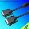 LCD 24Pin high definition dvi monitor cable