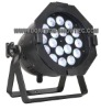 LED Parcan 56, 18X8W, Quadcolor RGBW 4in1, 9CH, Aluminum Black Shell