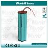 LED flashlight Li-ion 18650 rechargeable battery 11.1v