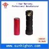 LED flashlight battery 18650