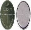 LIR2477 coin cell for led light