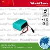 Led li ion battery pack 12V 4400MAH
