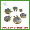 Li-MNO2  3V button battery with pins