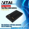 Li-ion  2000mAh Yaesu FNB-v67li 2 way radio batteries